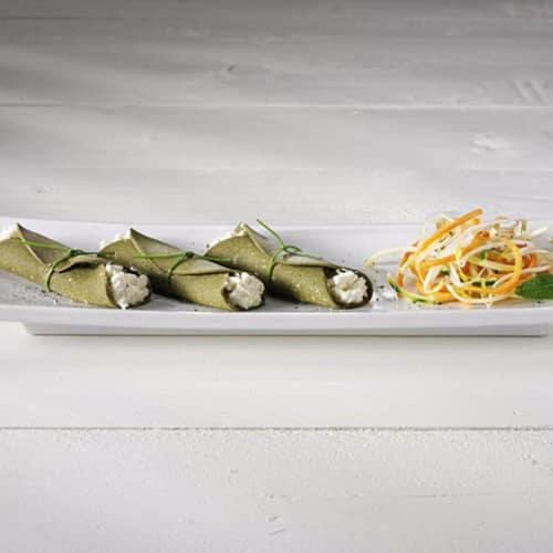 Rolls con queso de pasta blanda