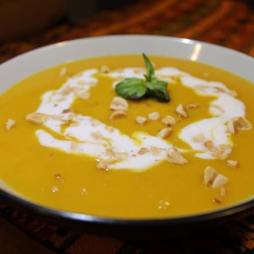 Crema thai de zapallo butternut