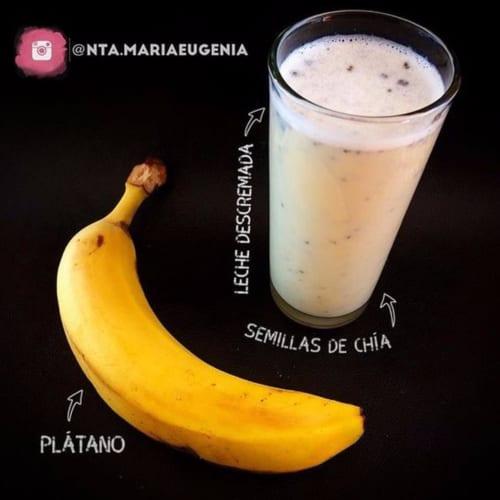 Latte con banana