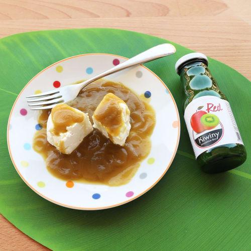 Robiola y salsa de kiwi (ny)