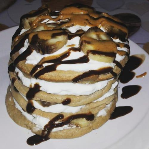 Torretta di pancakes coccocioccobanana