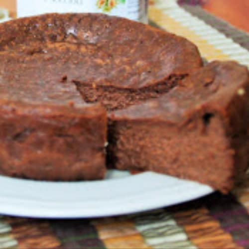 Cheesecake alla crema di nocciole