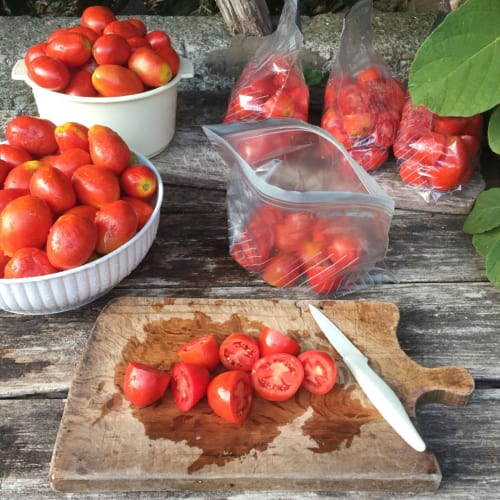 Fresh tomato sauce all year round