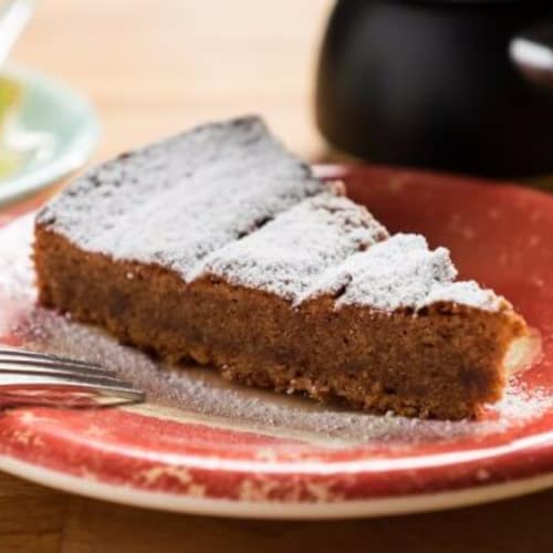 Maurizio Santin's tasty cake