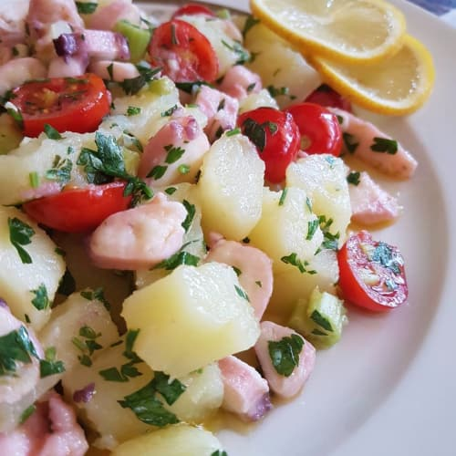 Pulpo y patatas