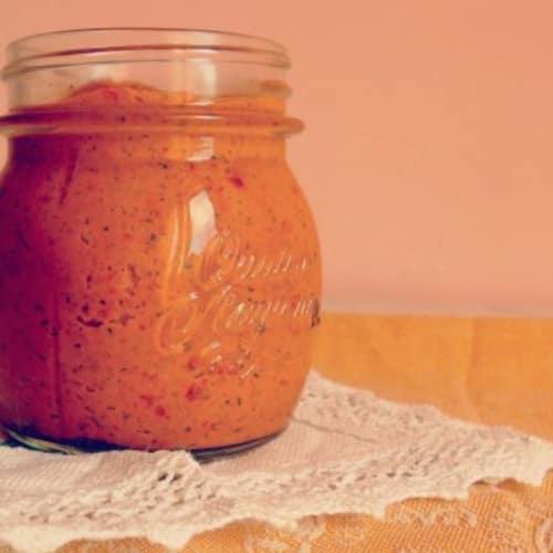 salsa de tomate secado