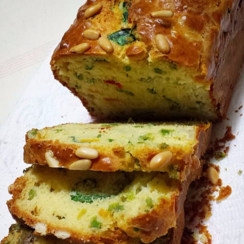 Plumcakes of vegetables