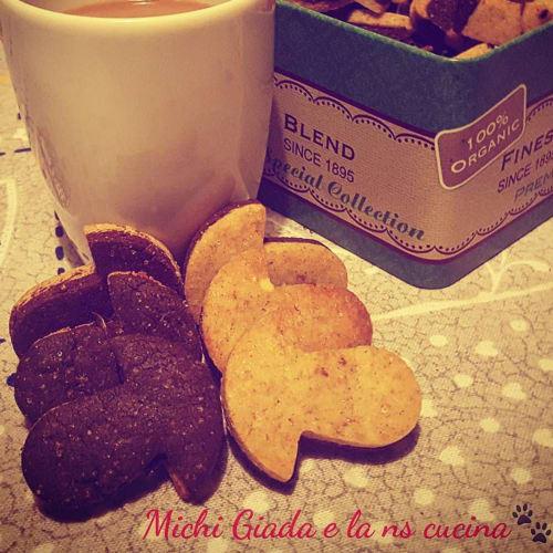 Biscotti con farina di ceci senza burro