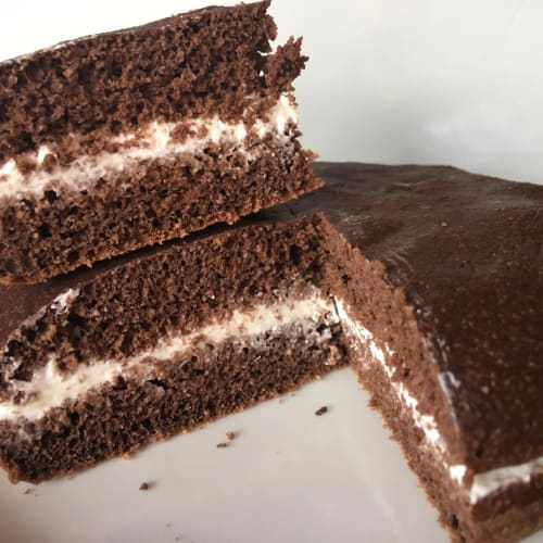 Kinder milk slice