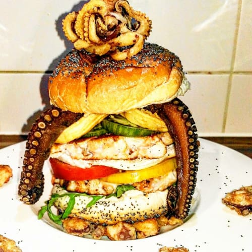 Sandwich Gourmet Poseidón