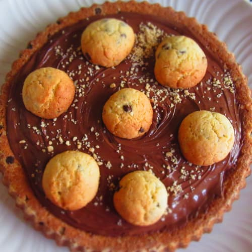 Crostata Cookies E Nutella