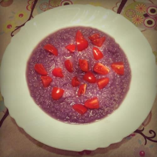 Zuppa Di Cavolo Rosso Con Quinoa