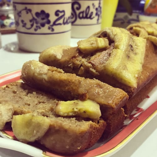 Fit banana bread