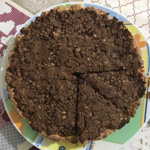 Castaños y tarta de chocolate