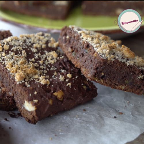 Brownies de aguacate