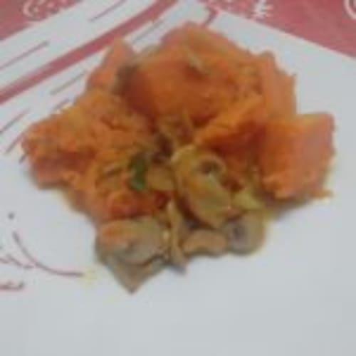 Zucca E Funghi In Padella