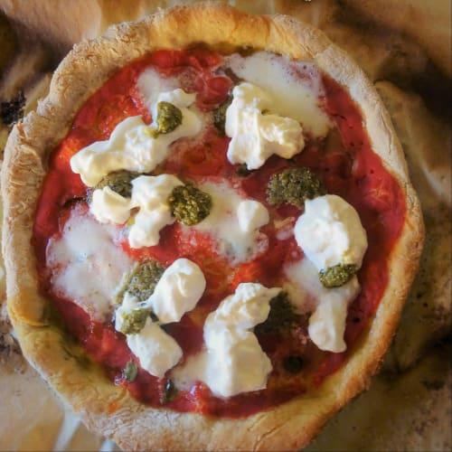 Pizza Alternativa con farine naturali senza glutine