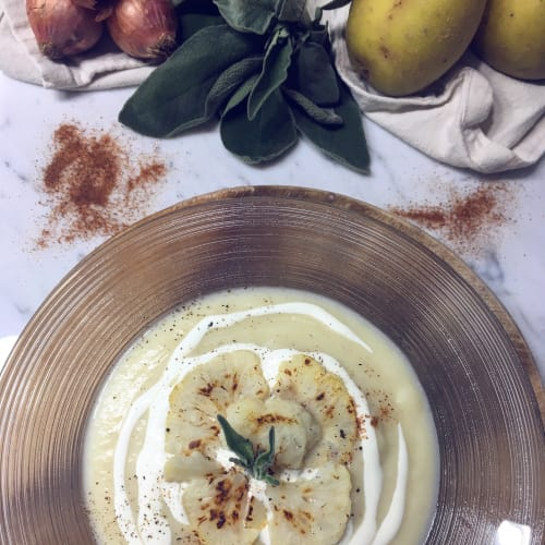 Crema di cavolfiore e patate