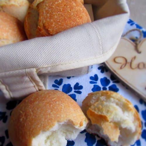 Sandwiches Gluten (crujientes por fuera y suaves por dentro)