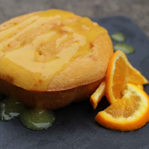 Tortino all'arancia senza zuccheri