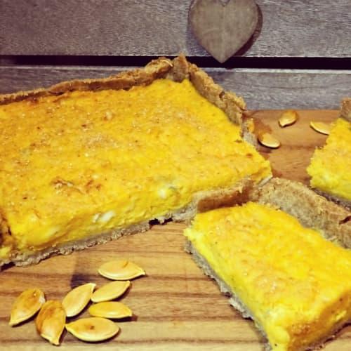 Torta Salata calabaza y Gorgonzola