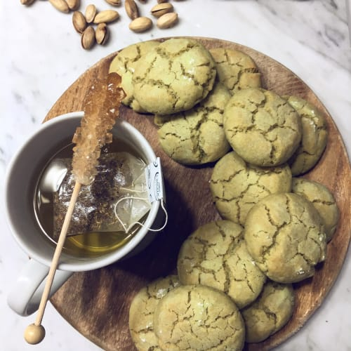Biscotti de pistacho