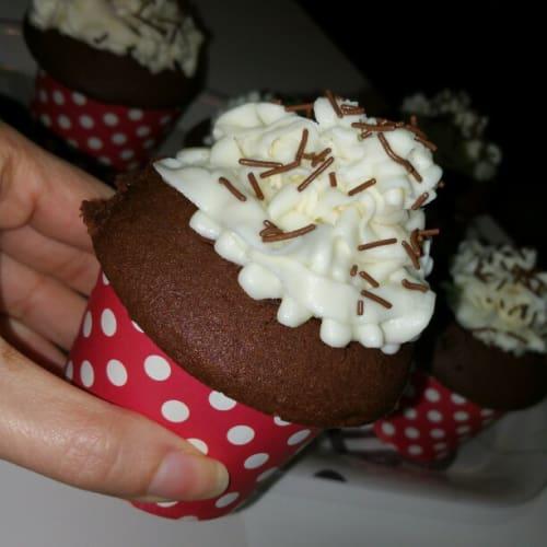 cupcake al fondente e mascarpone