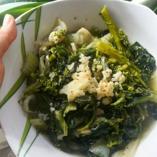 Zuppa stagionale di verdure