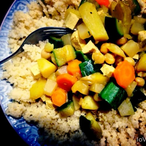 Cous Cous all'indiana
