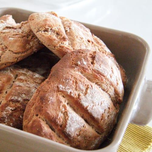 Sándwiches de harina de castaño (con Bimby)
