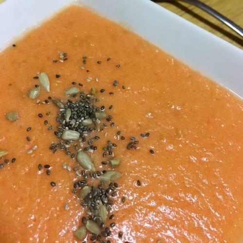 Zuppa di pomodoro fredda