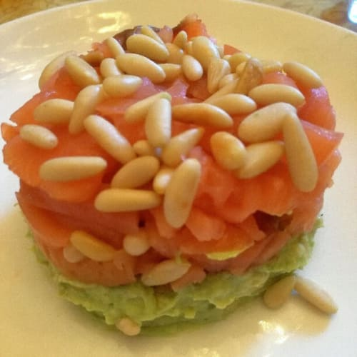 tartare di salmone