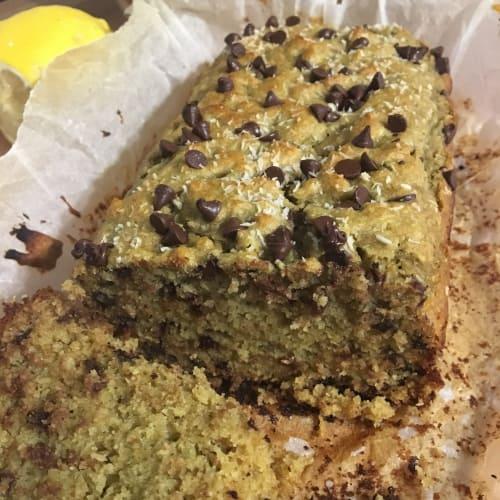 Plumcake cocco e avocado