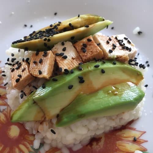 Broken sushi