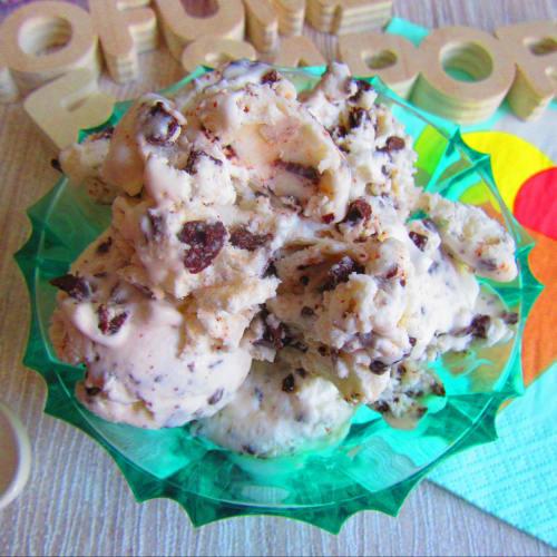 Helado de Stracciatella (sin heladora)