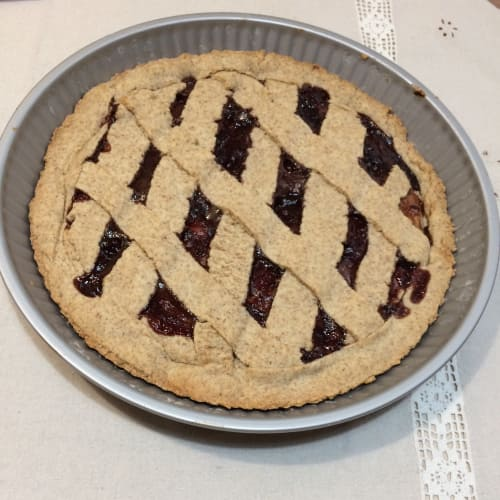 Crostata integrale fit