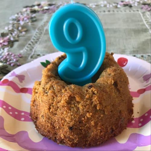 Pastel de Mrbig (amaranto dulce sin gluten ni azúcar)