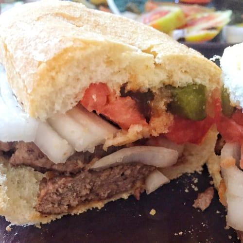 La hamburguesa de Gian