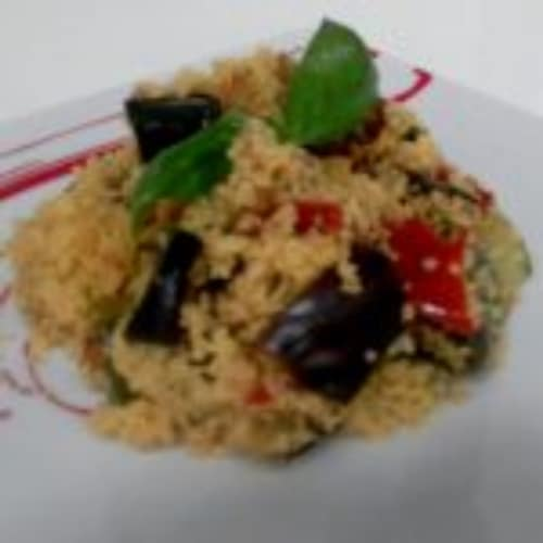 Couscous with vegetables...!!!