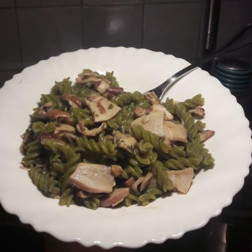 Delicioso plato verde