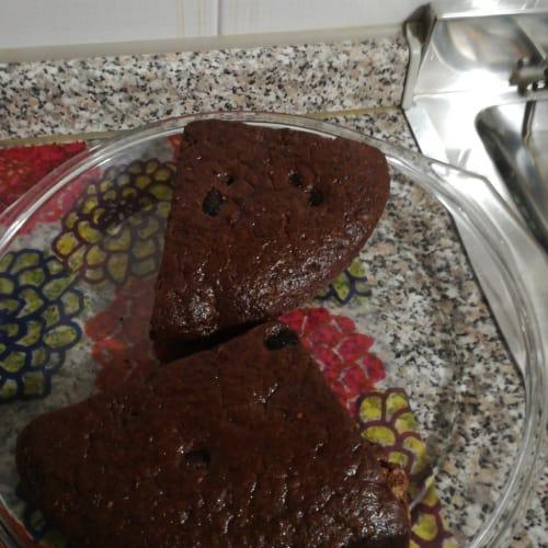 Bizcocho De Cacao Con Agua