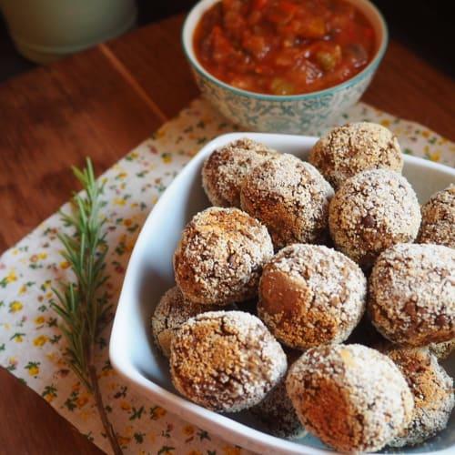 Polpette di lenticchie e pane