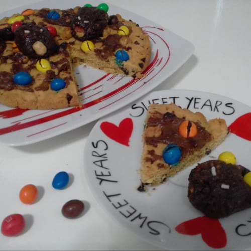 Cookies' cake...!!!