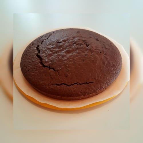 Pastel de chocolate a la inversa.
