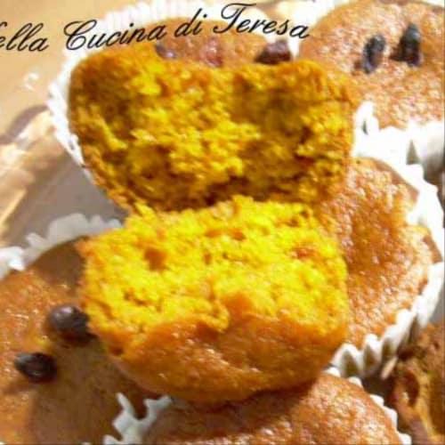 Muffin di Carote e Bacche di Goji