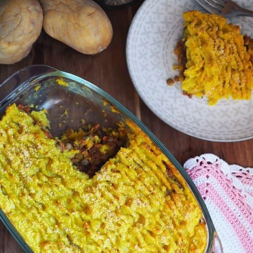 Sformato di lenticchie e patate