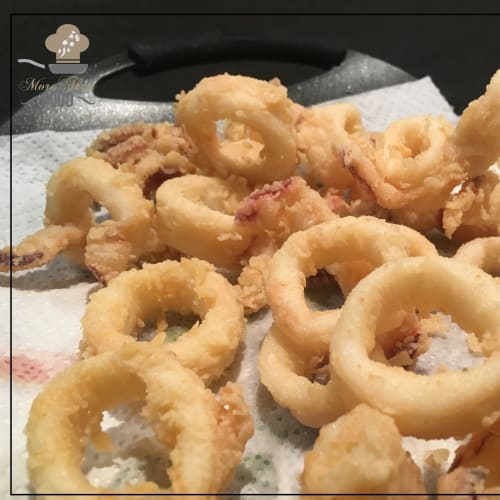 Fried squid. The recipe for fried rings as in the restaurant