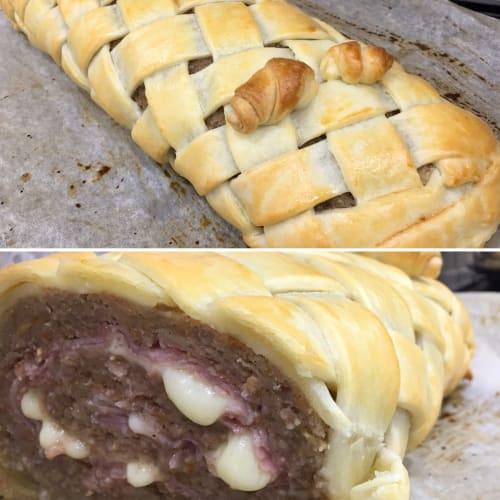 Meatloaf In Crust