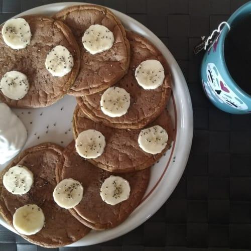 Pancakes proteici low carb
