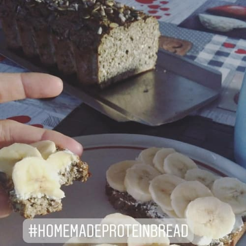 Protein bread homemade